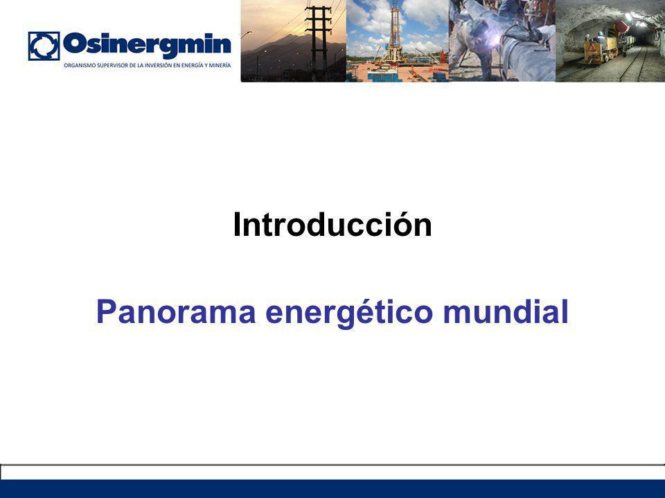 Panorama energético mundial