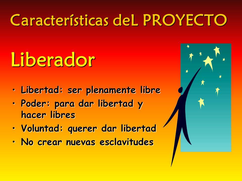 Características deL PROYECTO Liberador