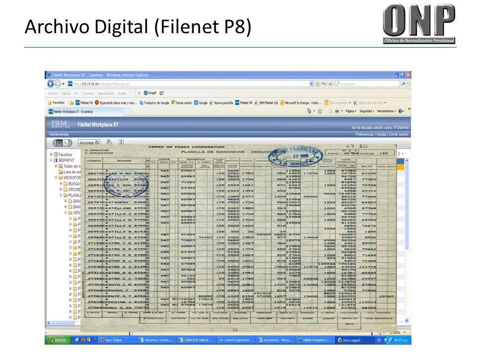 Archivo Digital (Filenet P8)