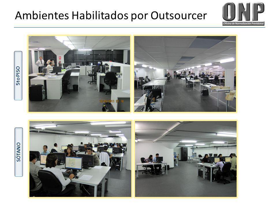Ambientes Habilitados por Outsourcer