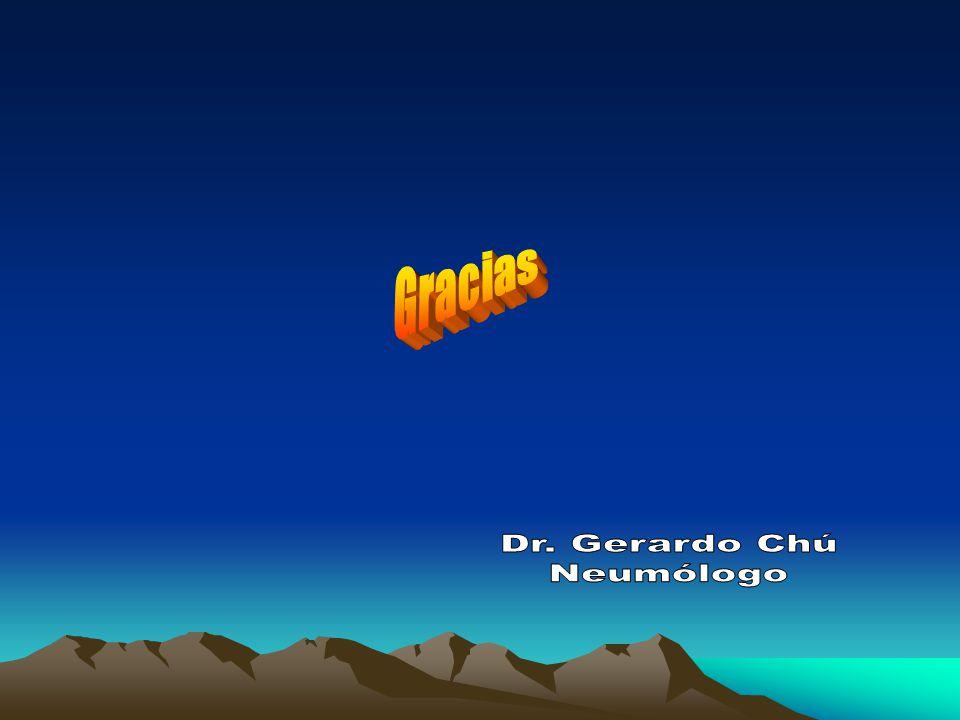 Gracias Dr. Gerardo Chú Neumólogo