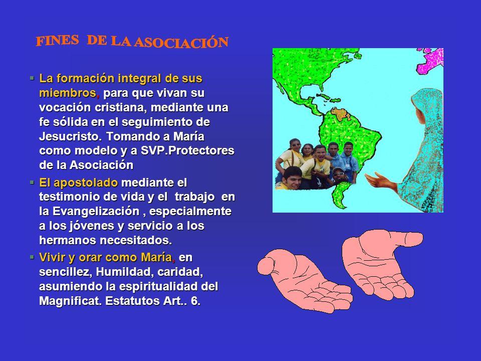 FINES DE LA ASOCIACIÓN