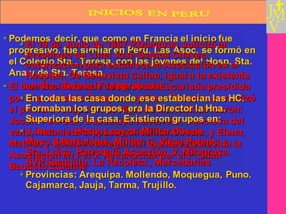 INICIOS EN PERU