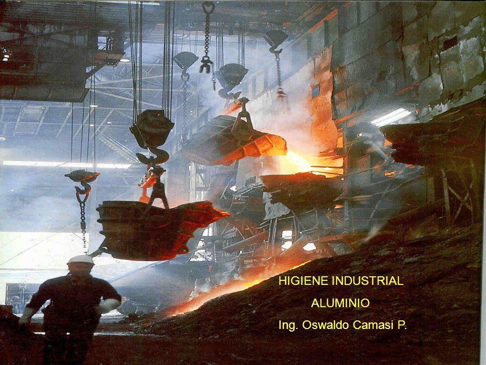 HIGIENE INDUSTRIAL ALUMINIO Ing. Oswaldo Camasi P. 1