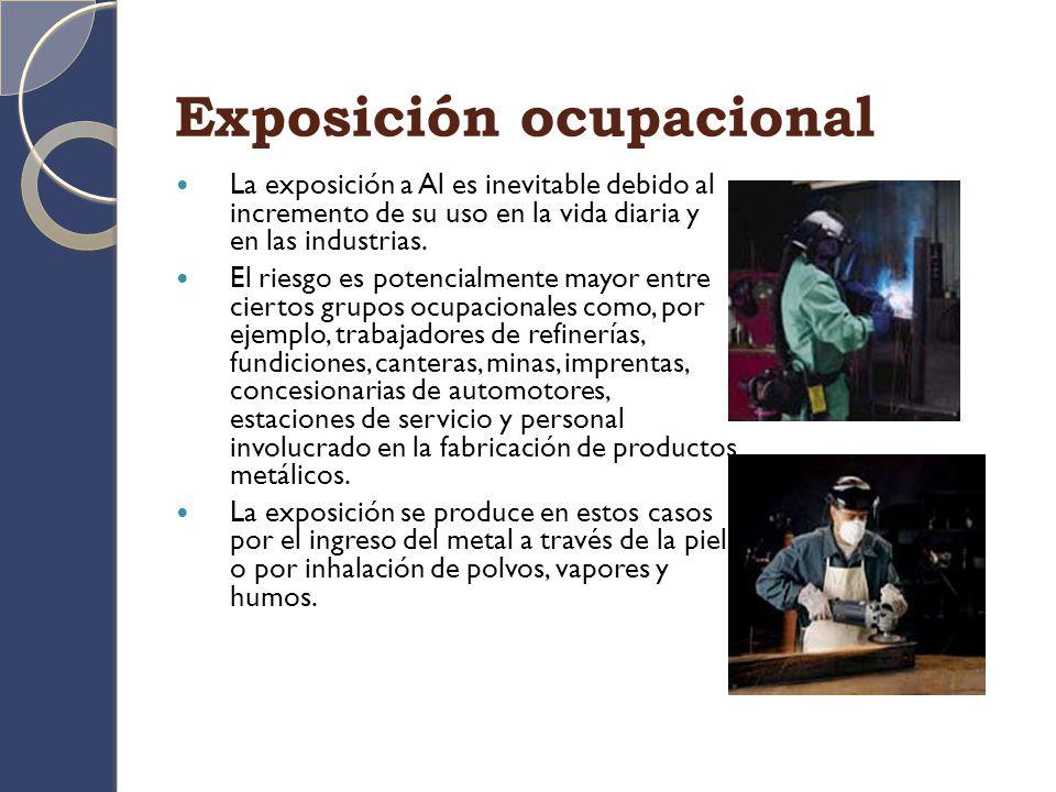 Exposición ocupacional
