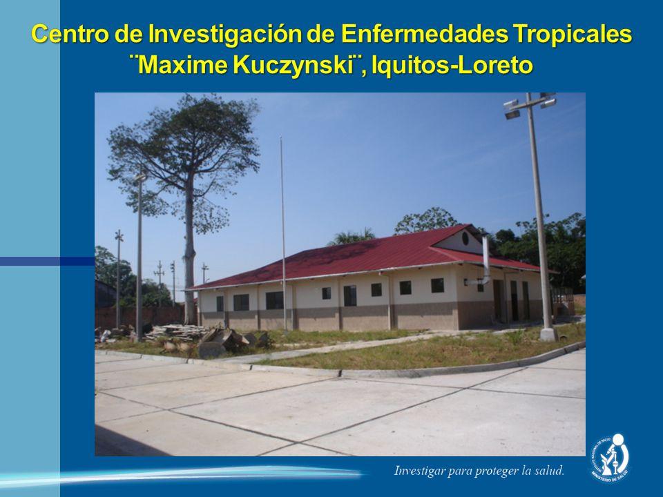 Centro de Investigación de Enfermedades Tropicales ¨Maxime Kuczynski¨, Iquitos-Loreto