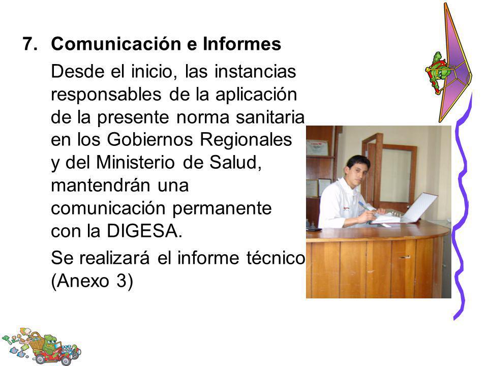 Comunicación e Informes