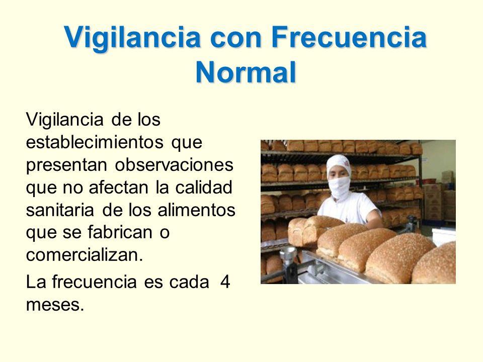 Vigilancia con Frecuencia Normal