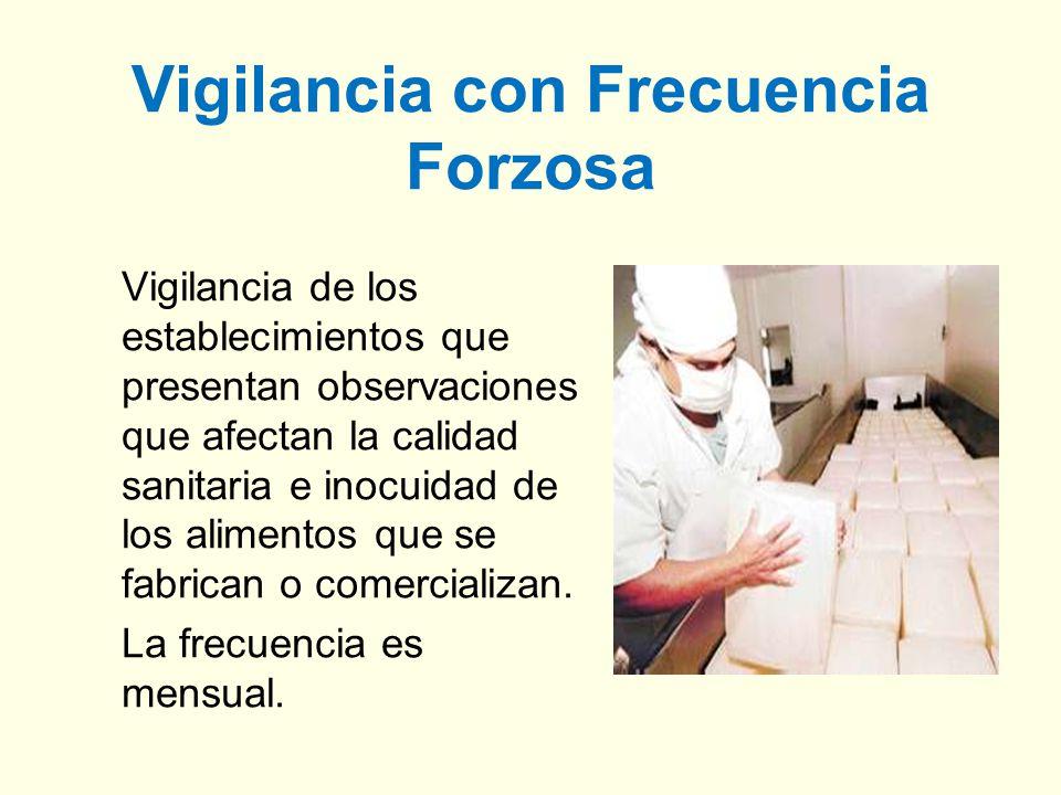 Vigilancia con Frecuencia Forzosa