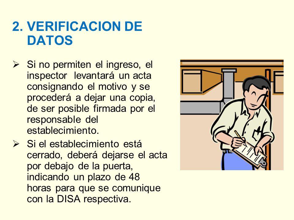 2. VERIFICACION DE DATOS
