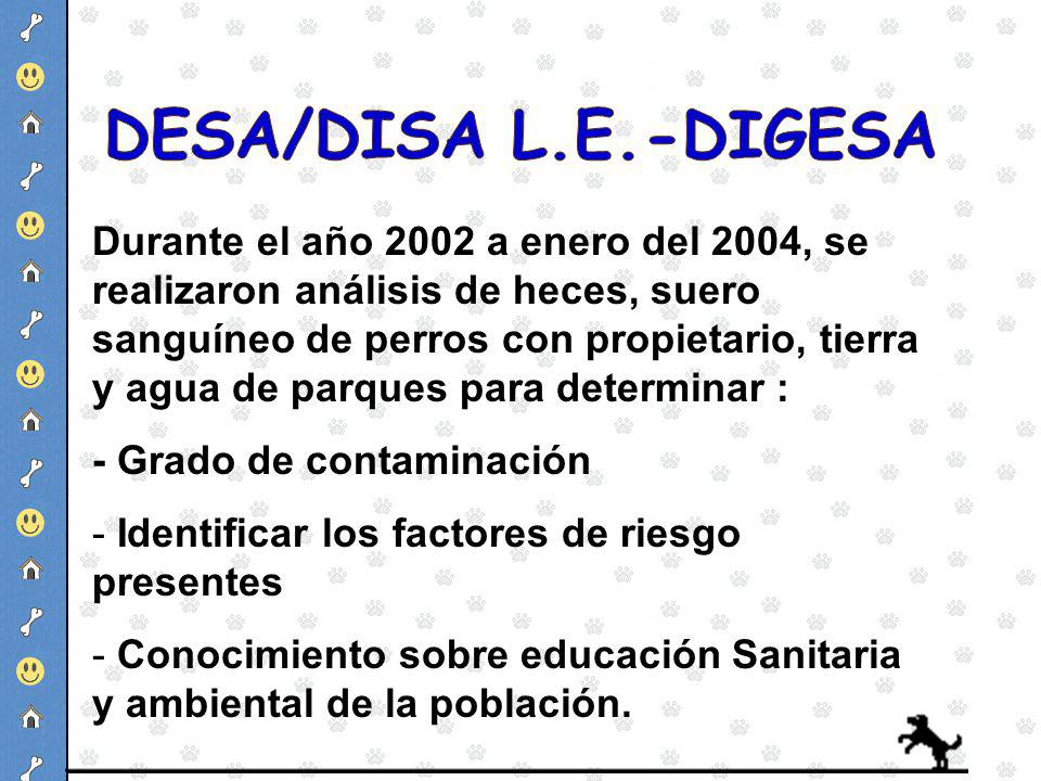 DESA/DISA L.E.-DIGESA