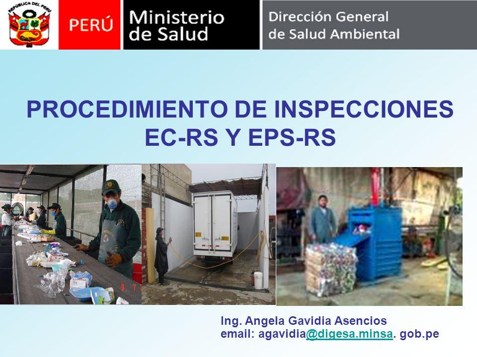 PROCEDIMIENTO DE INSPECCIONES EC-RS Y EPS-RS