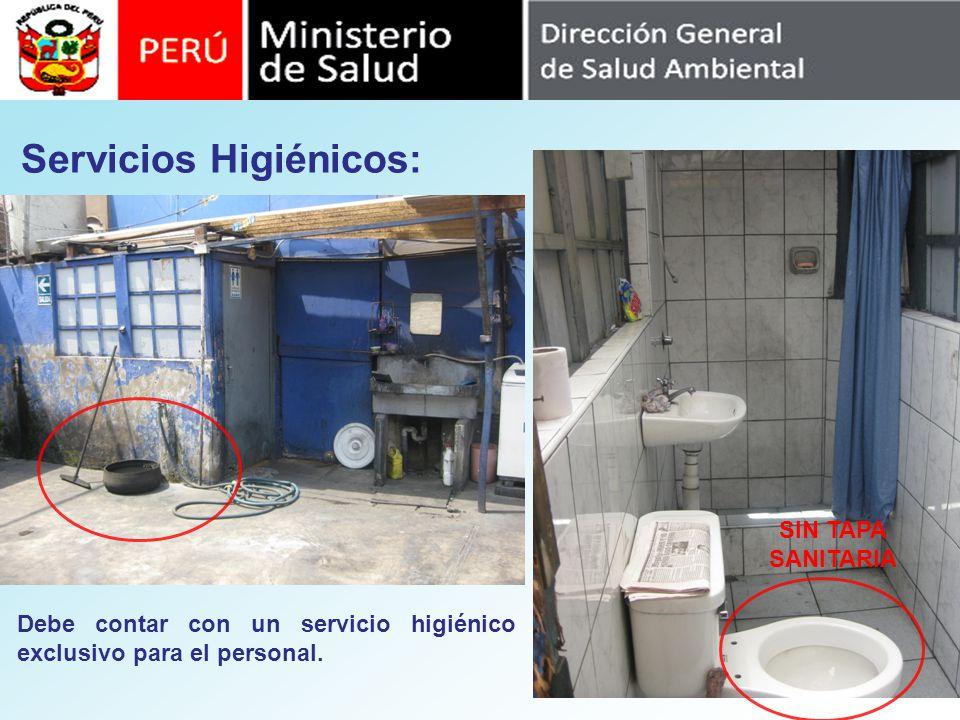 Servicios Higiénicos: