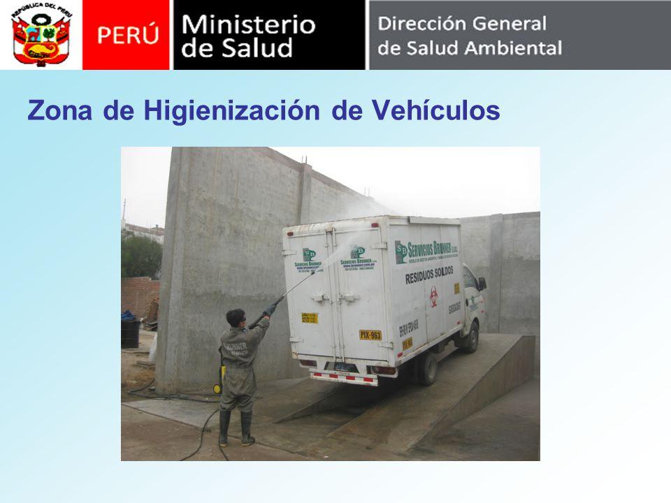 Zona de Higienización de Vehículos