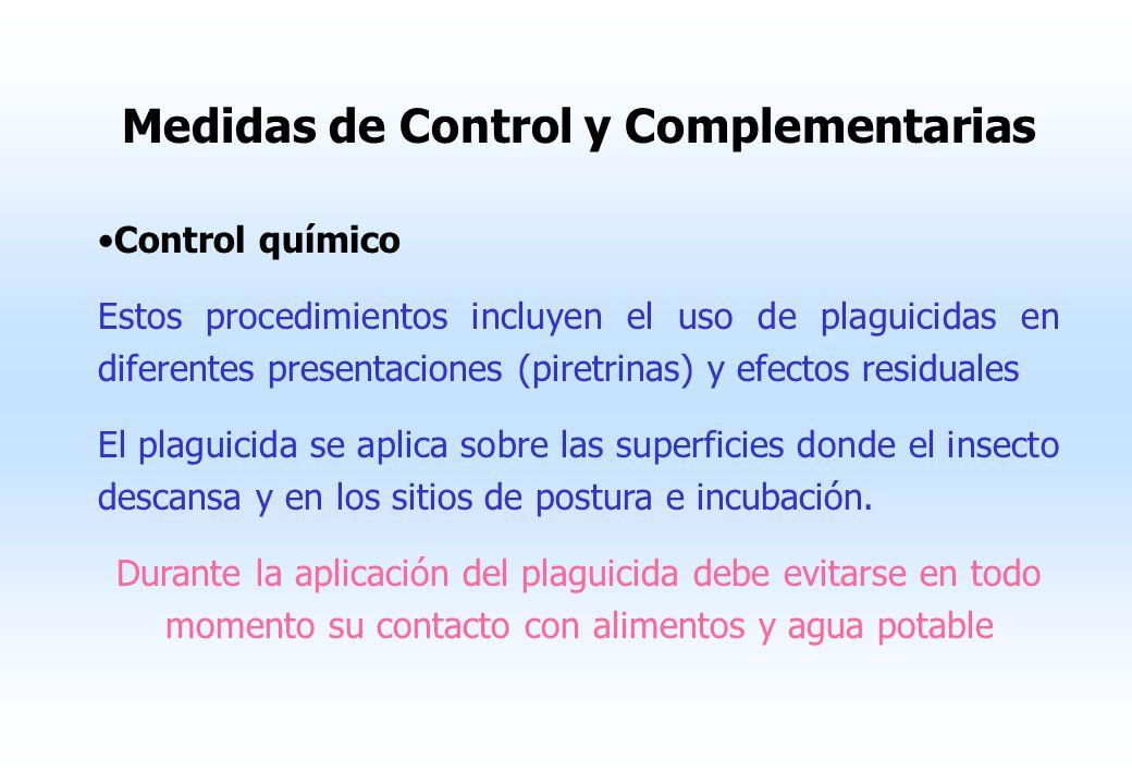 Medidas de Control y Complementarias
