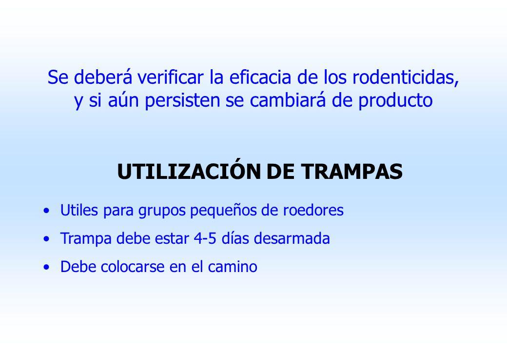UTILIZACIÓN DE TRAMPAS