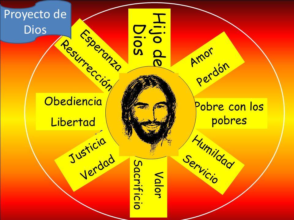 Hijo de Dios Proyecto de Dios Esperanza Resurrección Amor Perdón