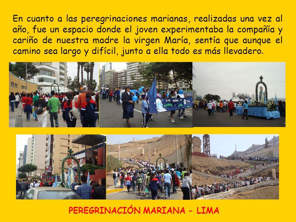 PEREGRINACIÓN MARIANA - LIMA