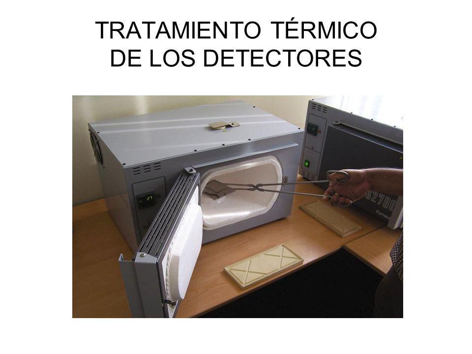 TRATAMIENTO TÉRMICO DE LOS DETECTORES