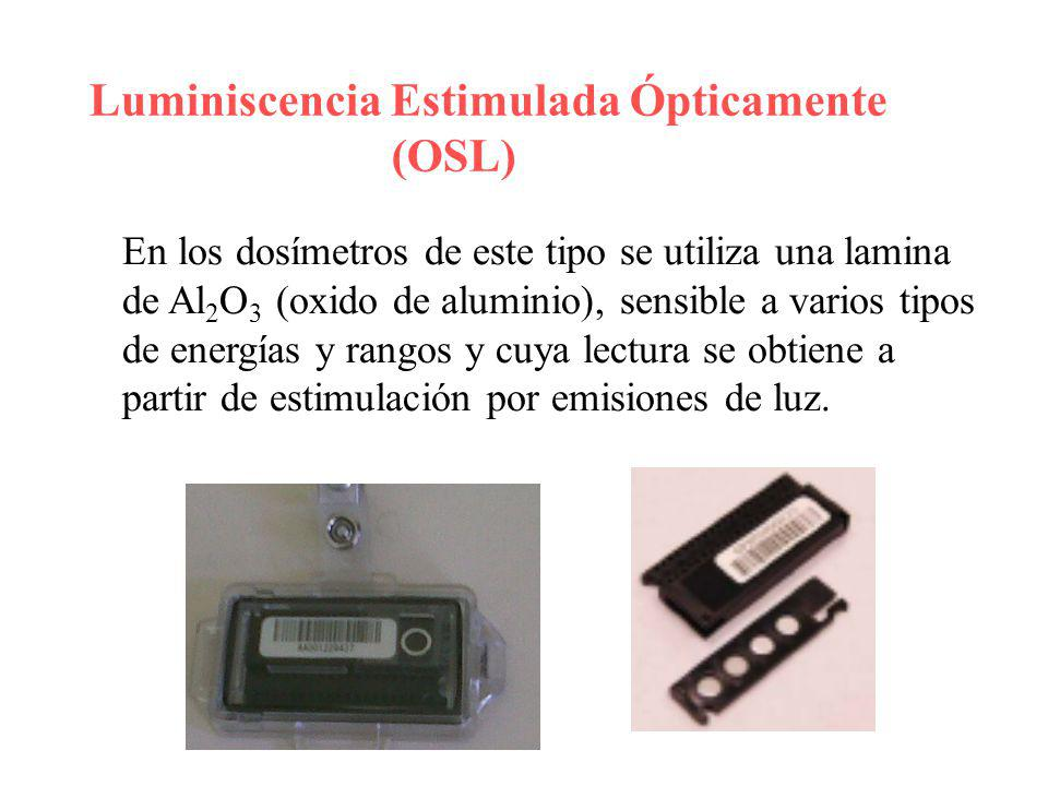 Luminiscencia Estimulada Ópticamente (OSL)
