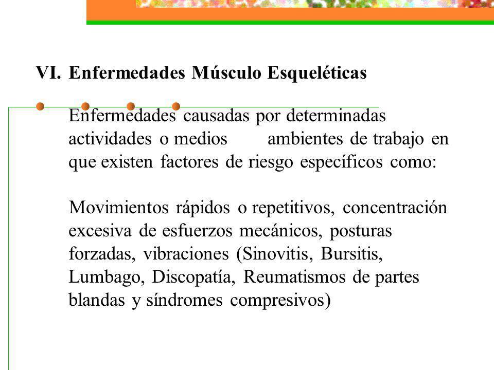 Enfermedades Músculo Esqueléticas