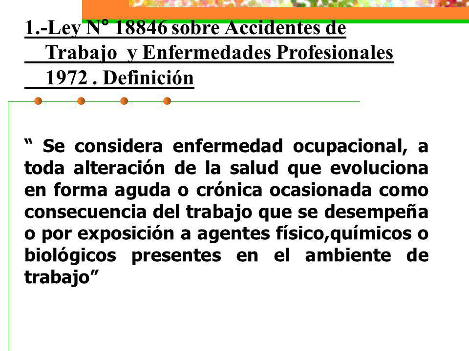 1.-Ley N° 18846 sobre Accidentes de