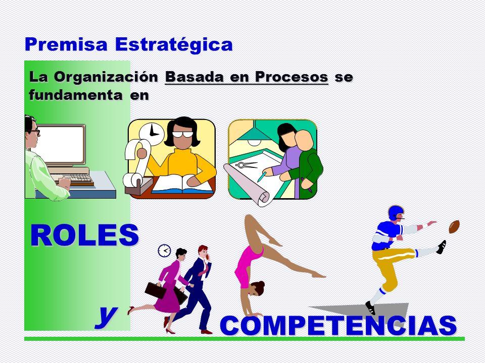 ROLES y COMPETENCIAS Premisa Estratégica