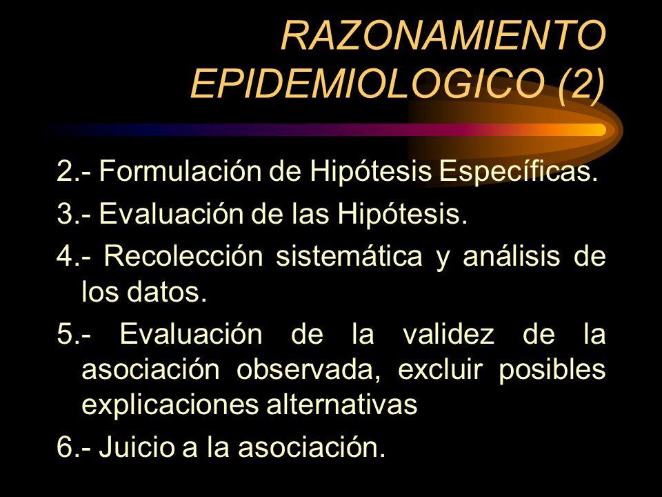RAZONAMIENTO EPIDEMIOLOGICO (2)