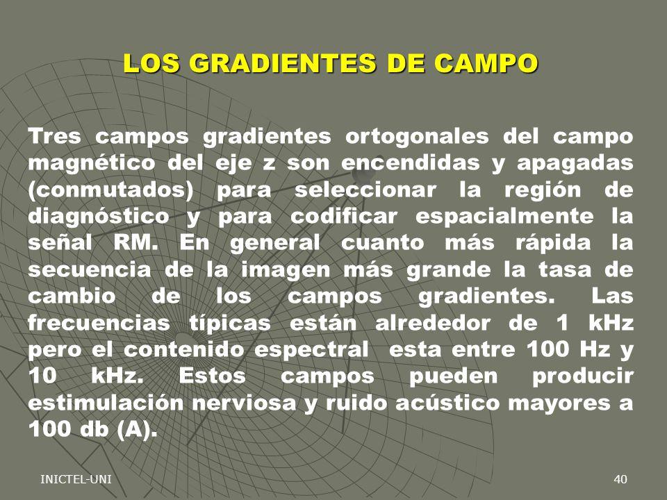 LOS GRADIENTES DE CAMPO