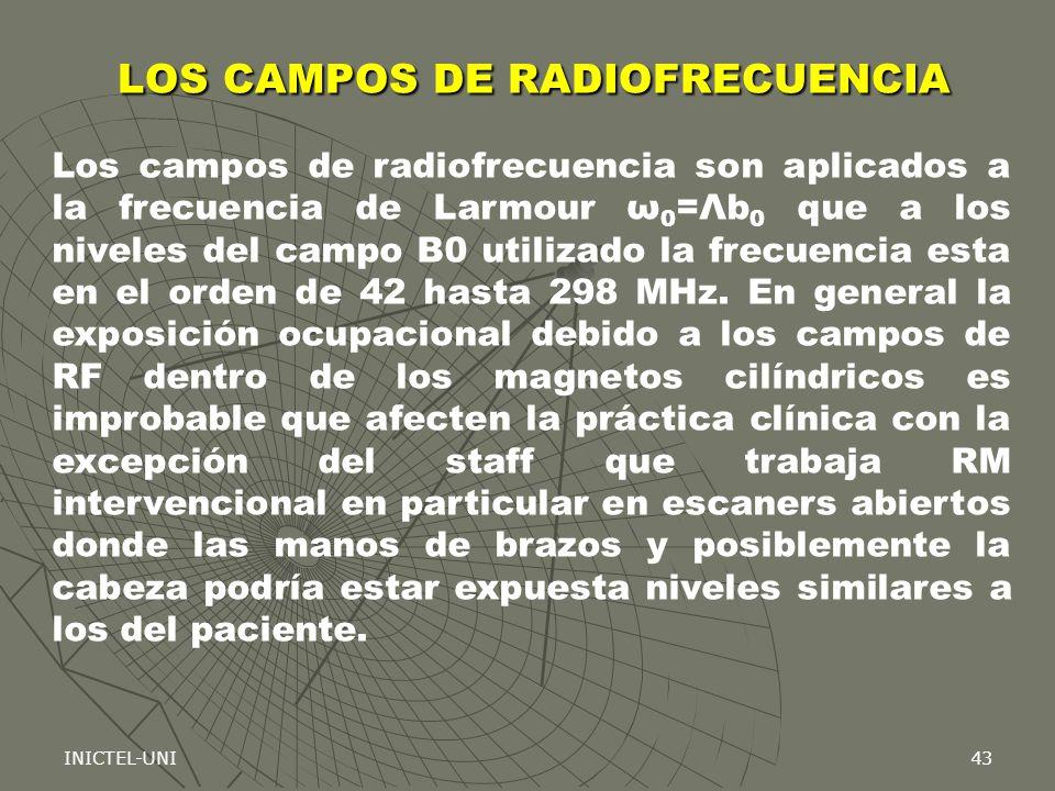 LOS CAMPOS DE RADIOFRECUENCIA
