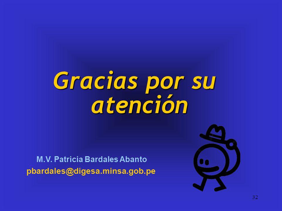 M.V. Patricia Bardales Abanto