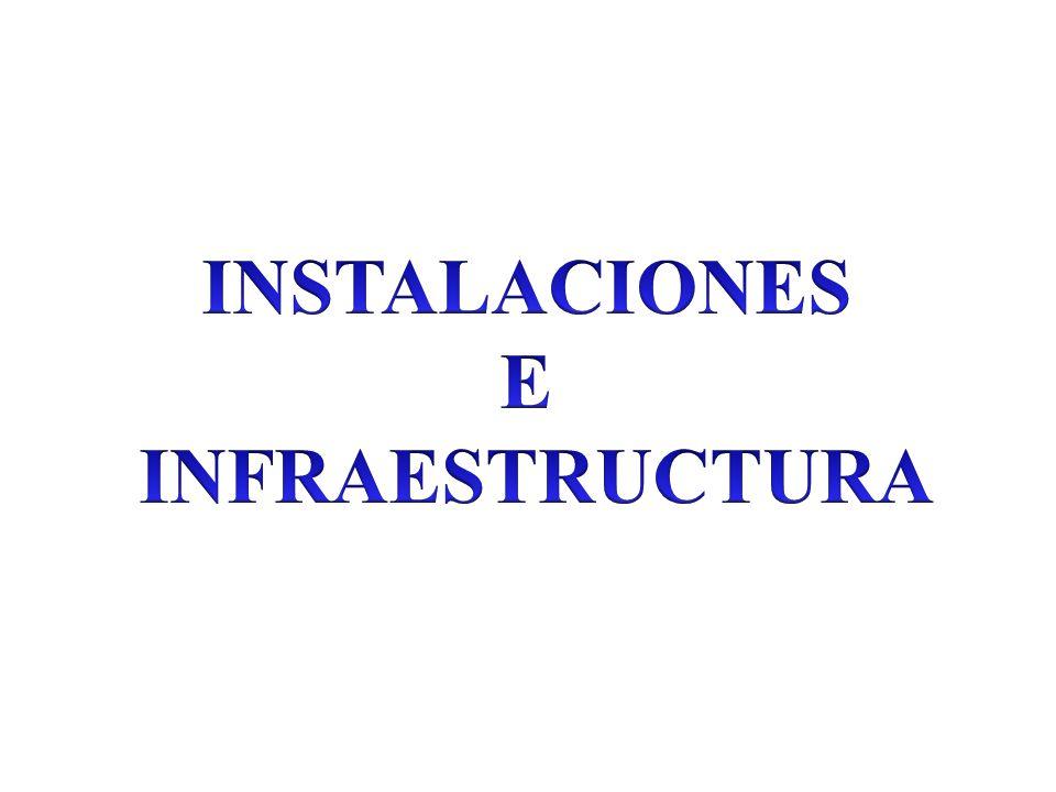 INSTALACIONES E INFRAESTRUCTURA