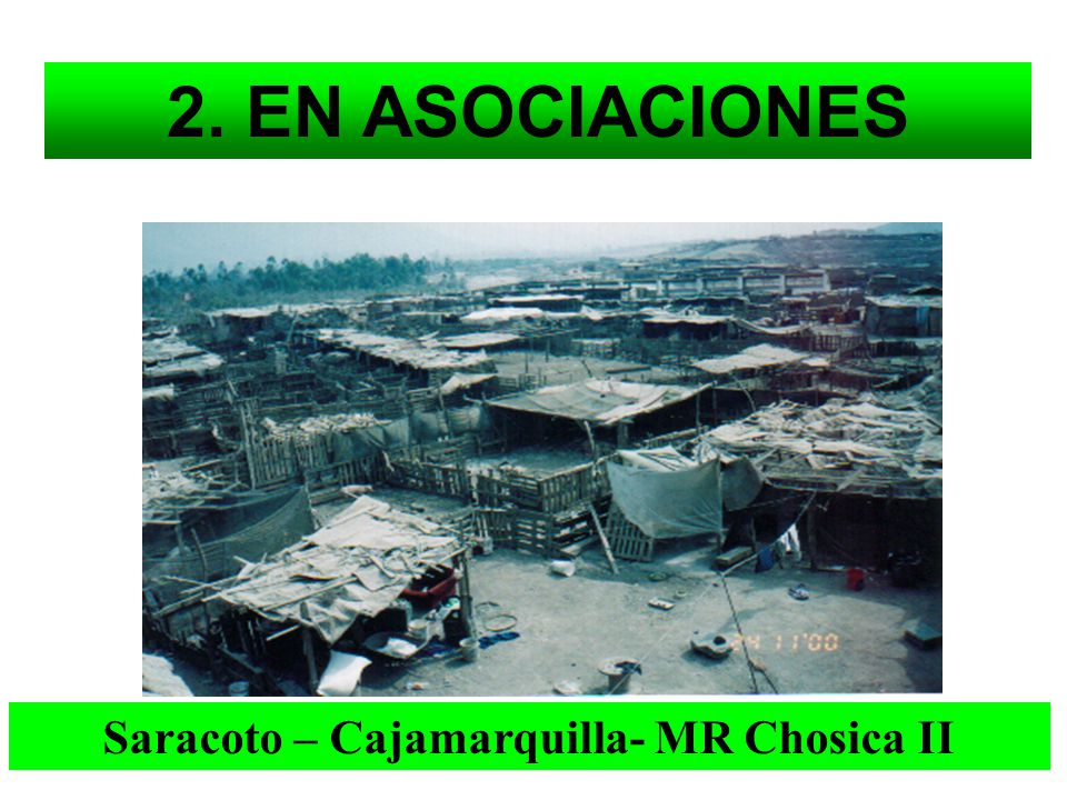 Saracoto – Cajamarquilla- MR Chosica II