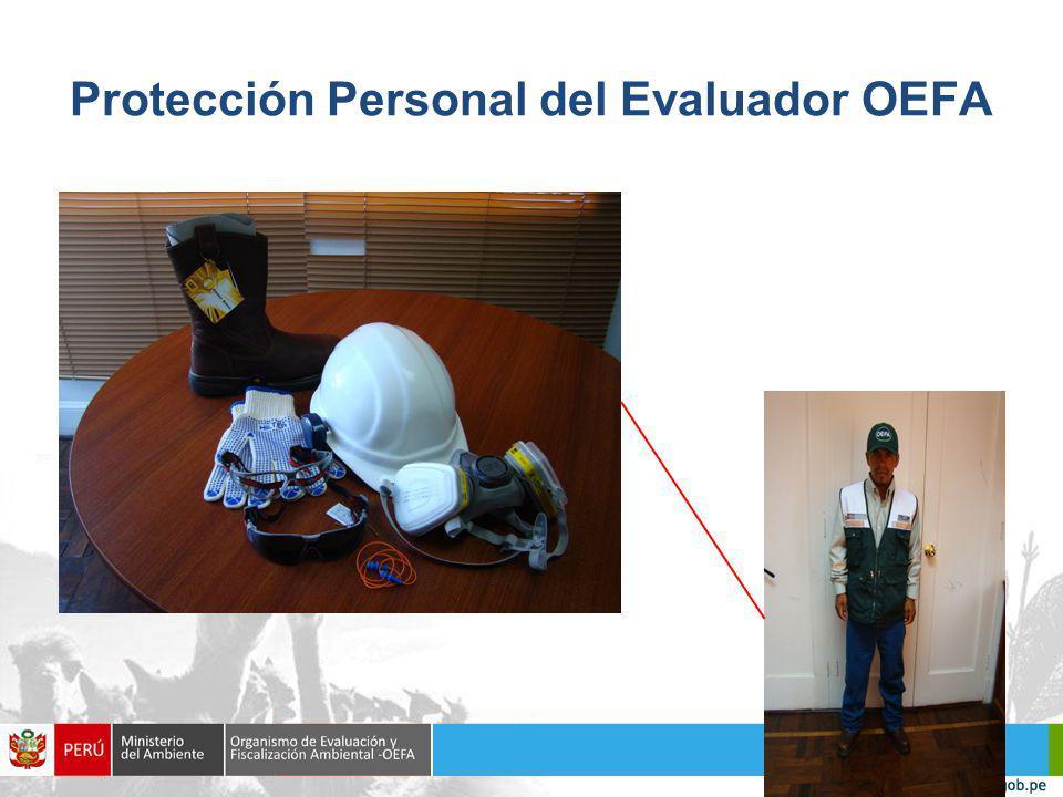 Protección Personal del Evaluador OEFA