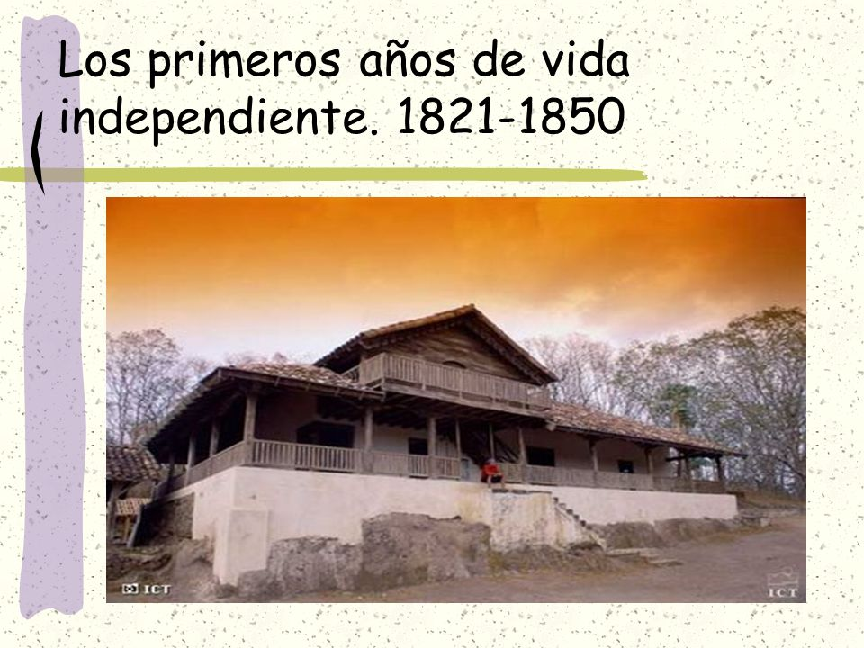 Los primeros años de vida independiente. 1821-1850