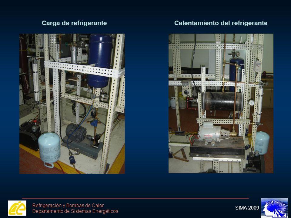 Calentamiento del refrigerante