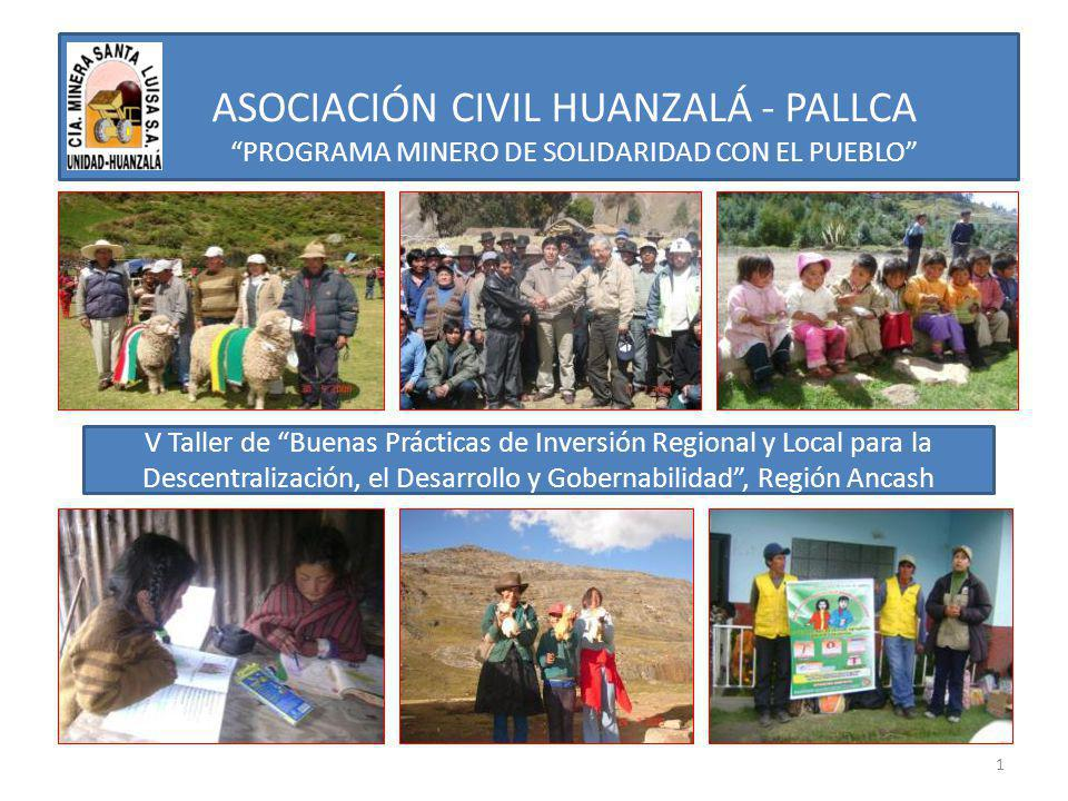 ASOCIACIÓN CIVIL HUANZALÁ - PALLCA