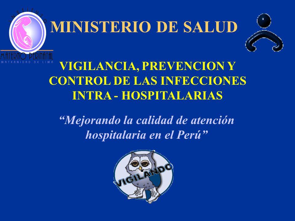 Mejorando la calidad de atención hospitalaria en el Perú