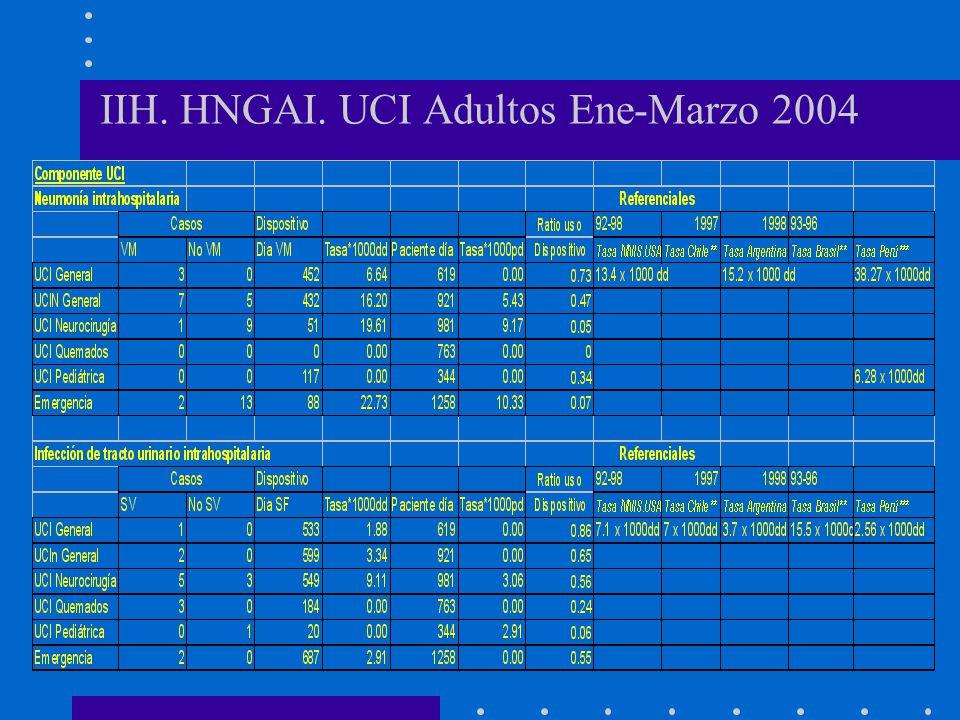 IIH. HNGAI. UCI Adultos Ene-Marzo 2004