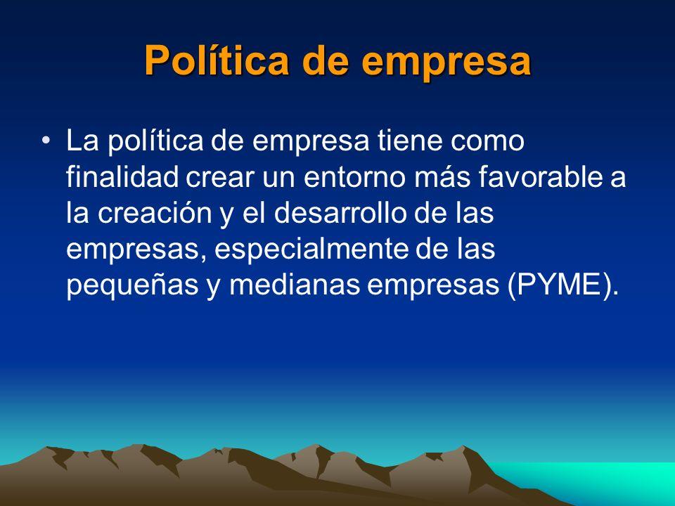 Política de empresa