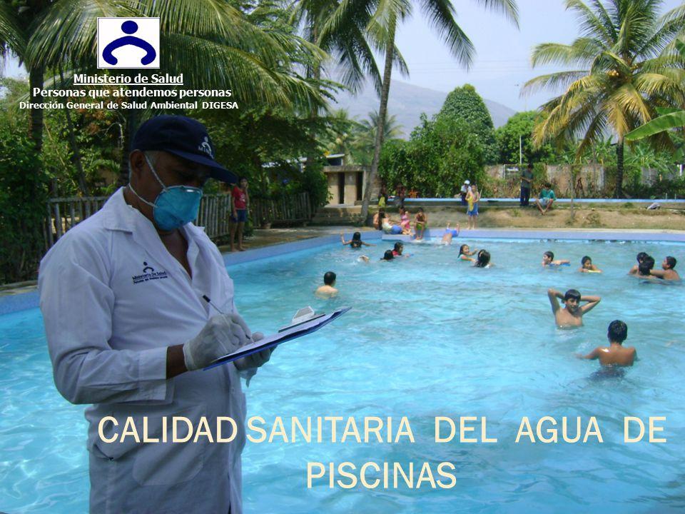 CALIDAD SANITARIA DEL AGUA DE PISCINAS