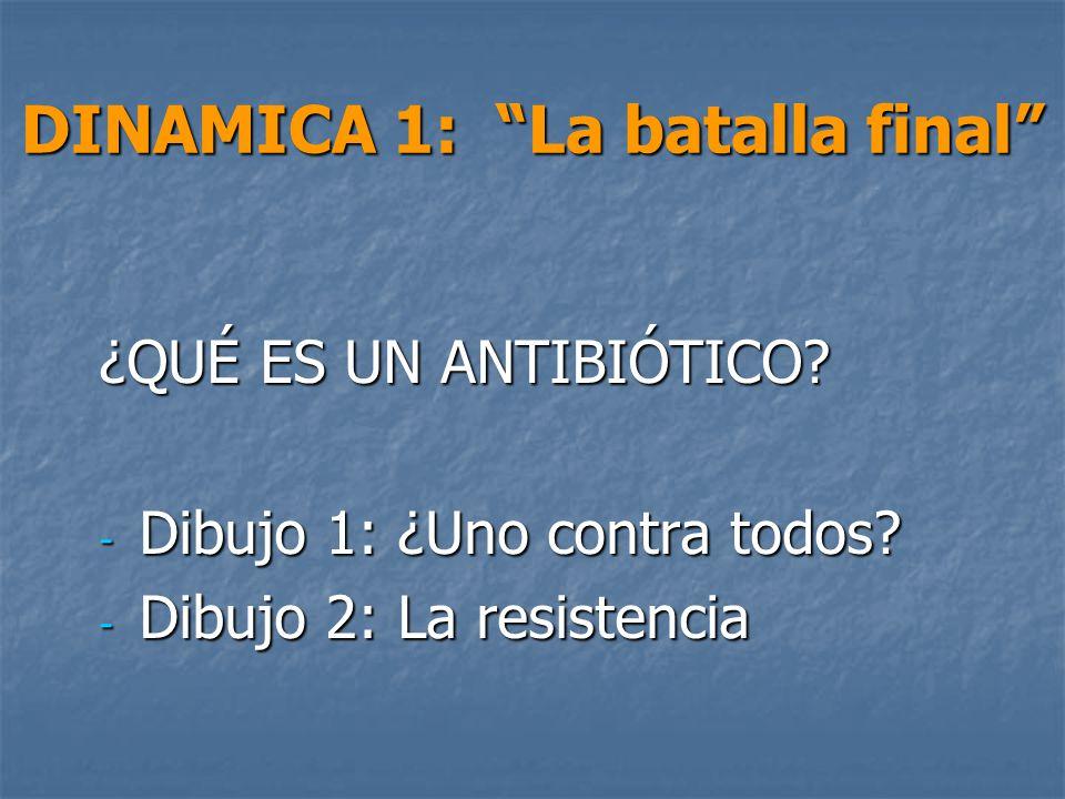DINAMICA 1: La batalla final