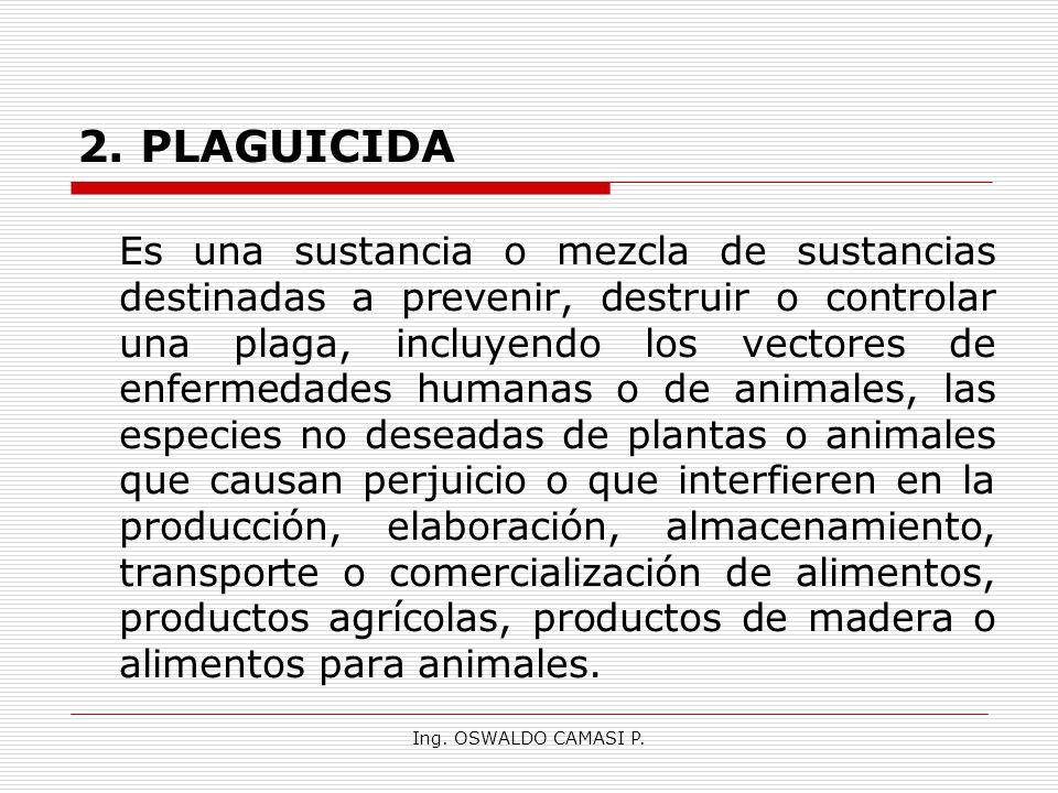 2. PLAGUICIDA