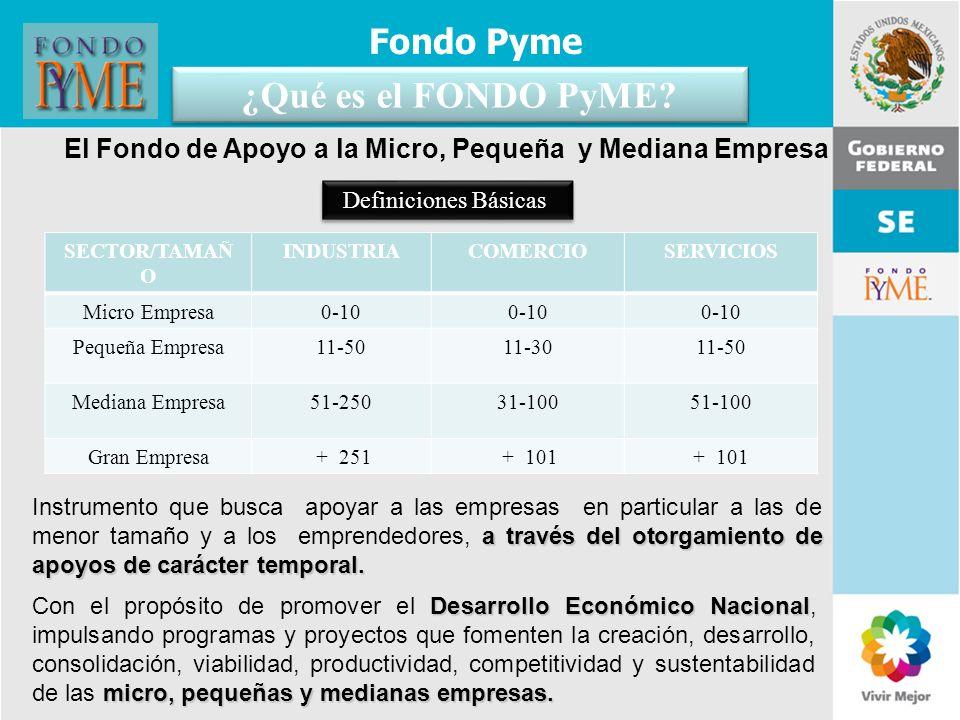 El Fondo de Apoyo a la Micro, Pequeña y Mediana Empresa