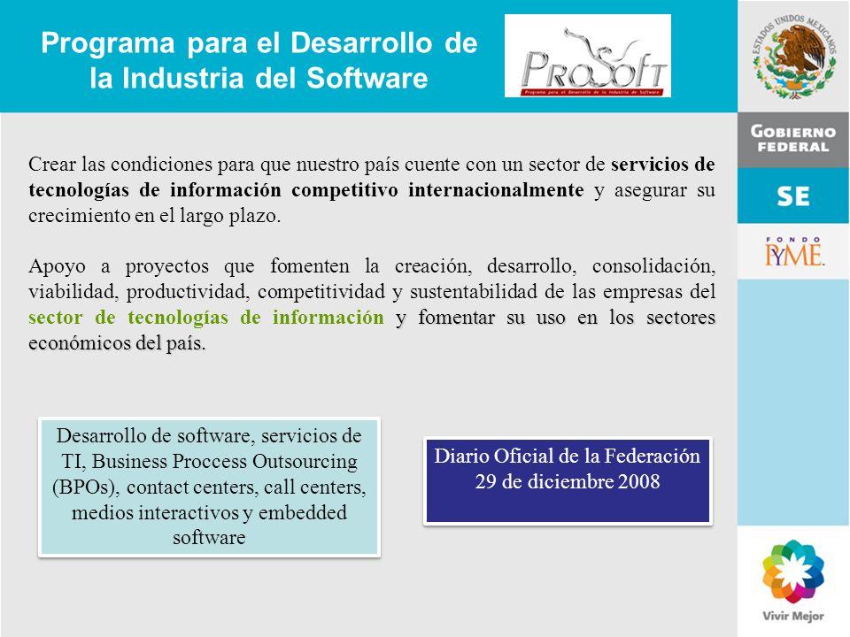Programa para el Desarrollo de la Industria del Software