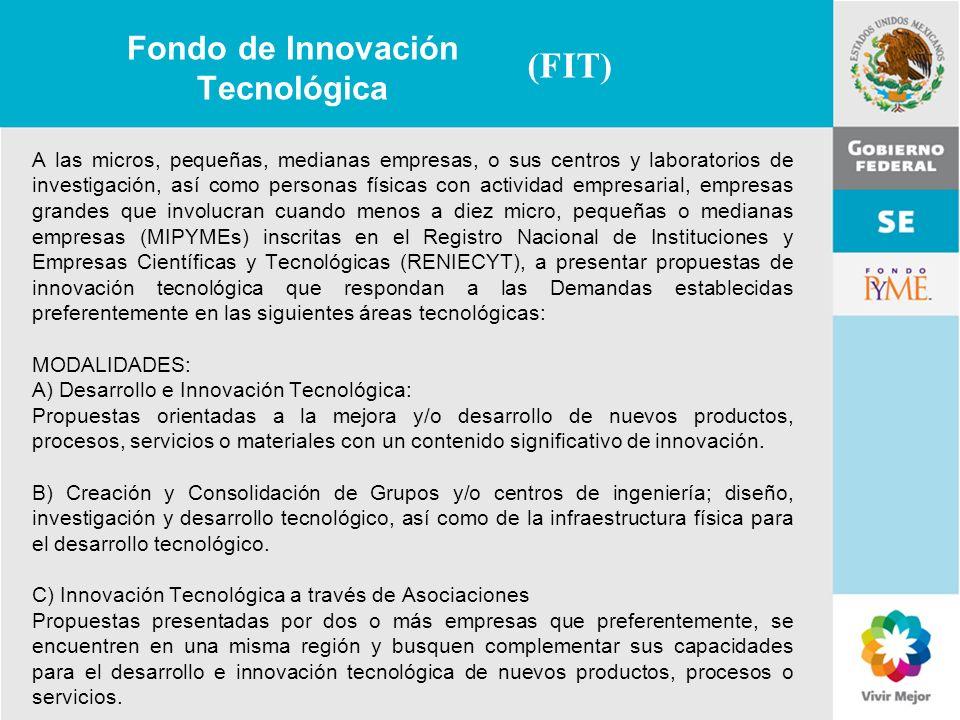 Fondo de Innovación Tecnológica