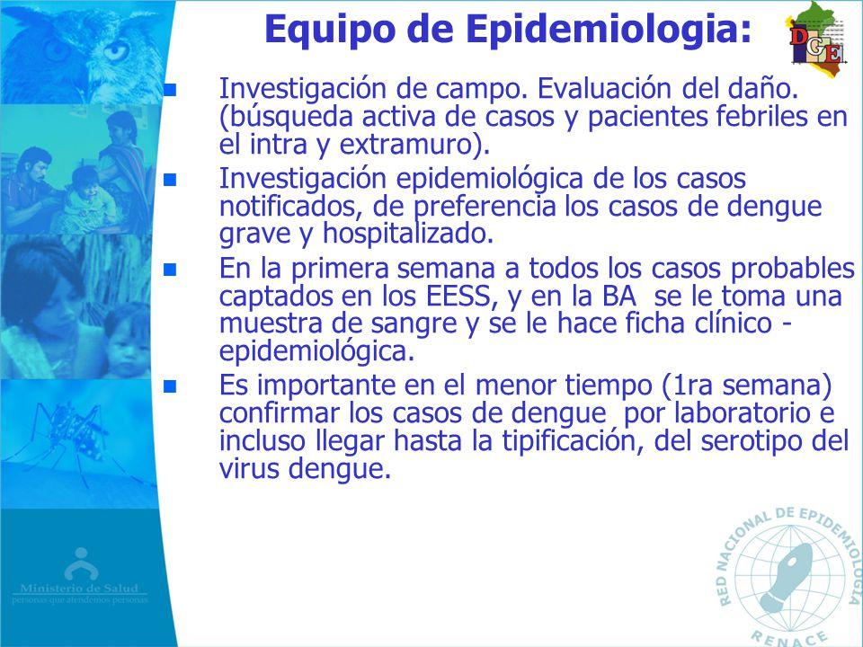 Equipo de Epidemiologia: