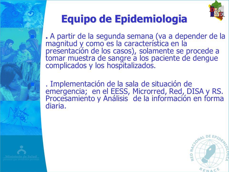 Equipo de Epidemiologia
