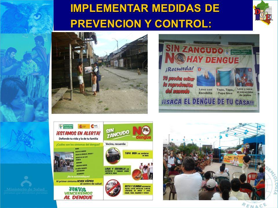 IMPLEMENTAR MEDIDAS DE