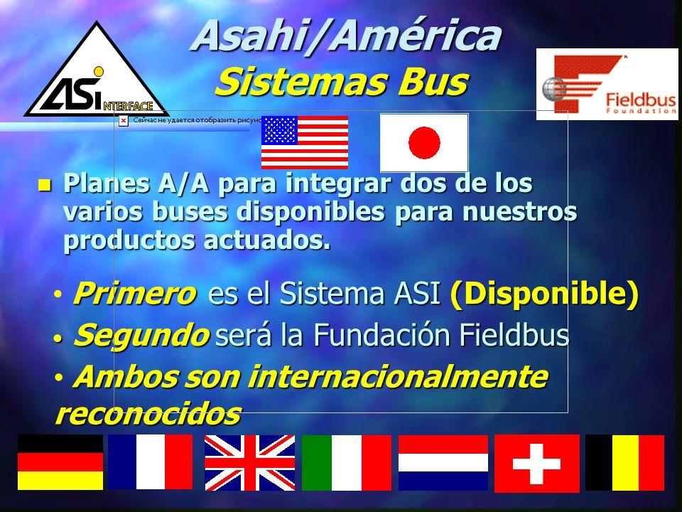 Asahi/América Sistemas Bus Primero es el Sistema ASI (Disponible)
